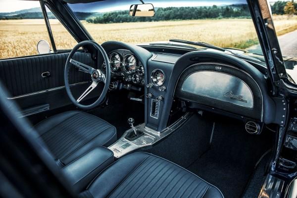 Corvette C2 Interieur Echtleder
