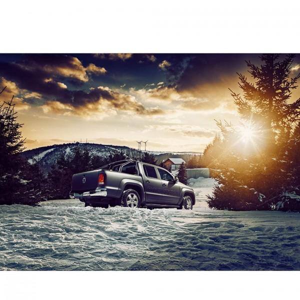 VW Amarok Schneelandschaft