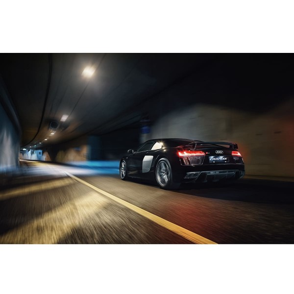 Audi R8 Tunnel