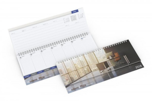Tischkalender Master Register Karton Complete