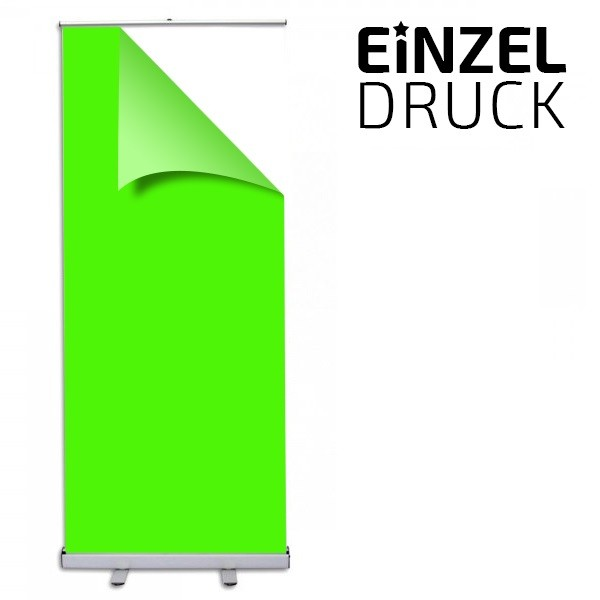 Einzeldruck Roll Up Standard
