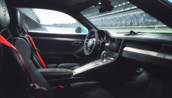 Porsche GT3 Interieur