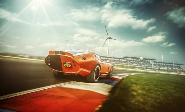 Wandbild 1965 Daytona Cobra Lausitzring