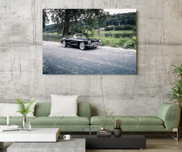 Wandbild Corvette C1