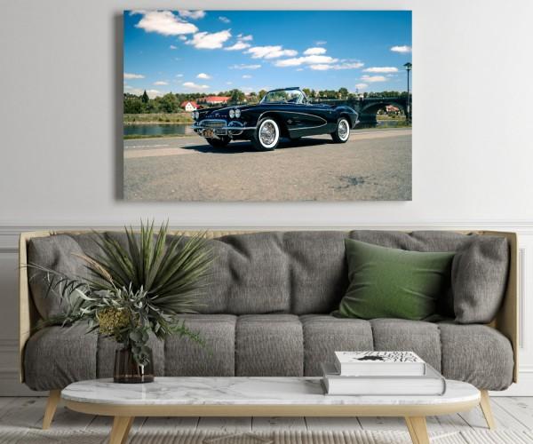 Wandbild Corvette C1 Cabrio 'Lucifer'
