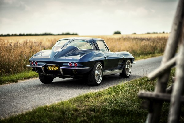 1963 Corvette C2 SplitWindow Hinten