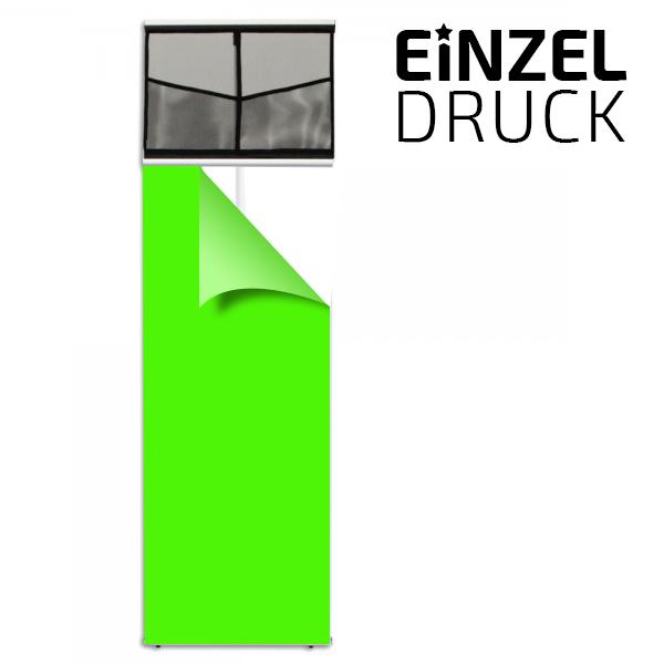 druck f r l banner mit prospekthalter flyer st nder g nstig displaystars. Black Bedroom Furniture Sets. Home Design Ideas