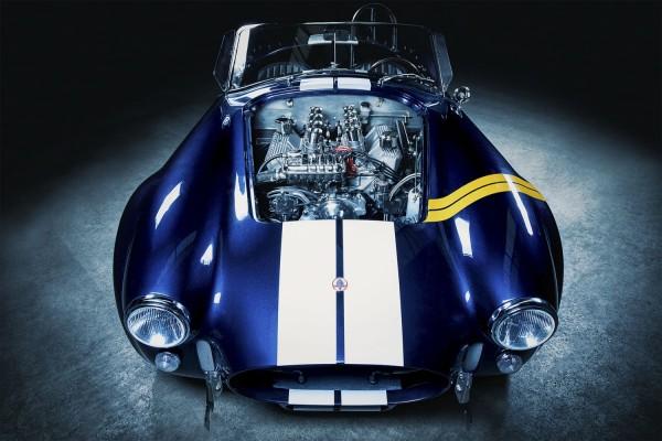 Wandbild 1965 Shelby Cobra mit 427cui BigBlock