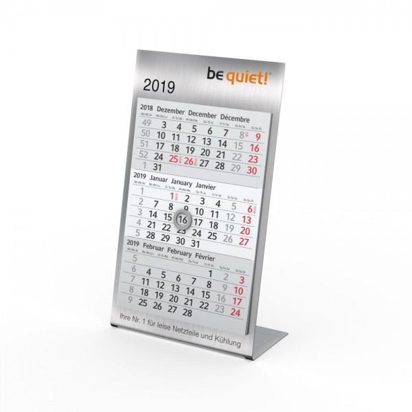 Tischkalender Desktop 3 Steel Complete