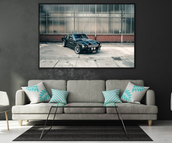 Wandbild Ford Mustang Eli V