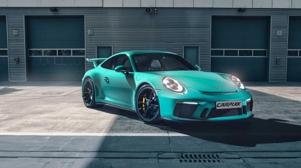 Porsche GT3 Boxengasse