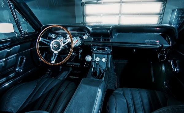 Wandbild 1967 Ford Mustang Fastback Interieur
