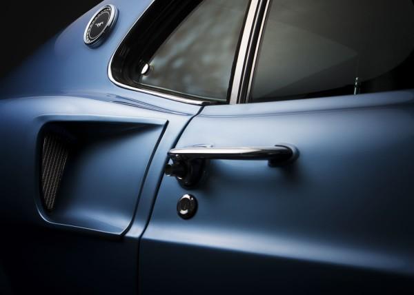 Wandbild 1969 Ford Mustang Kiemen