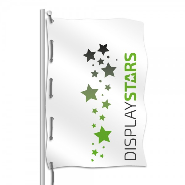 Hissflagge bedruckt