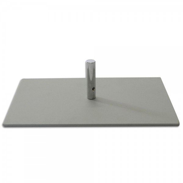 Metallplattenfuß Größe S