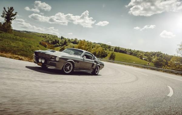 Wandbild 1967 Ford Mustang Eleanor