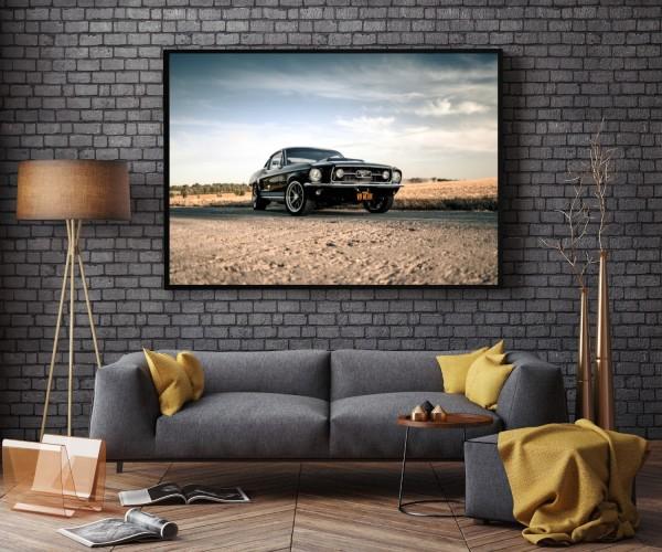 Wandbild Ford Mustang GT