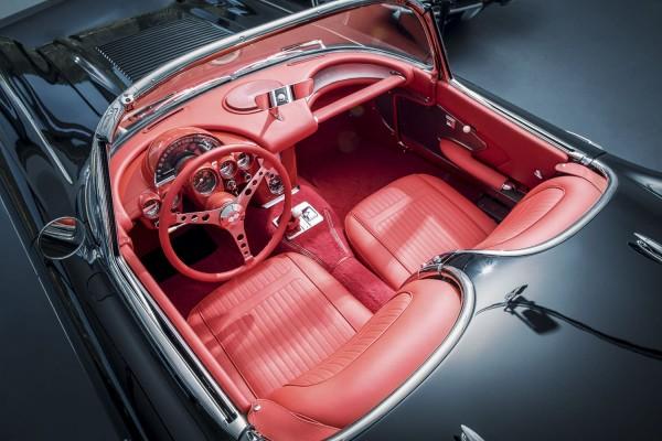 Wandbild Corvette C1 Interieur