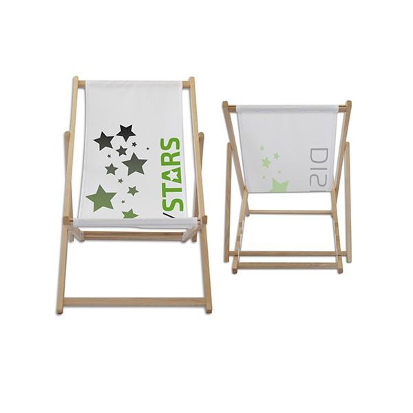 Liegestühle bedrucken lassen Displaystars