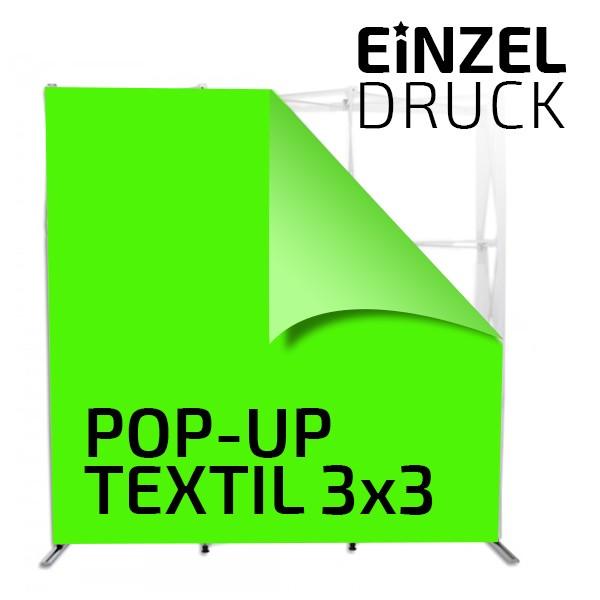 Druck für Pop Up Textil 3x3