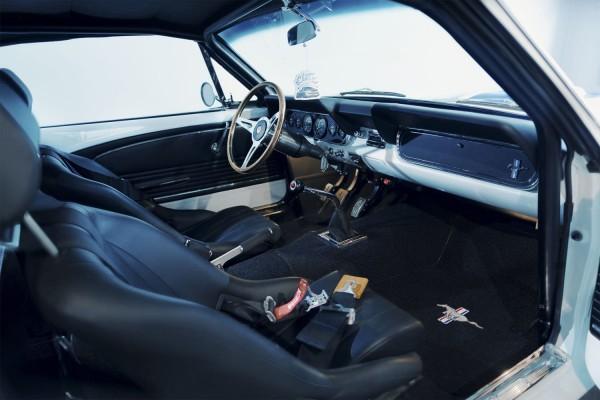 Wandbild 1966 Shelby GT350 Interieur