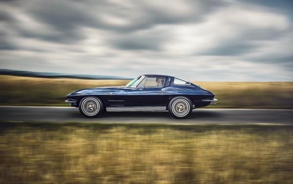 1963 Corvette C2 SplitWindow Seite