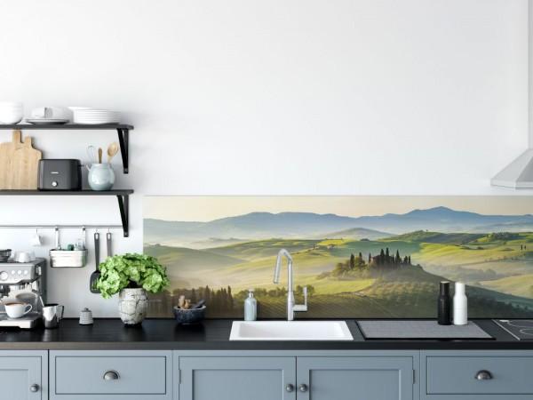 Spritzschutz für Küchenrückwand Motiv Toskana