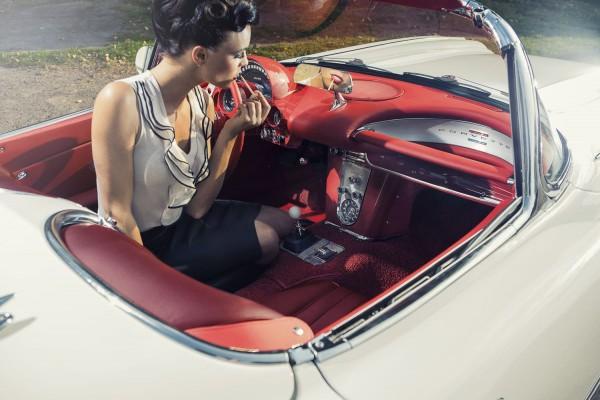 Wandbild 1960 Corvette C1 Styling
